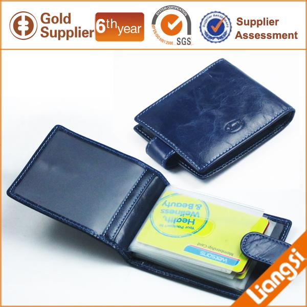 【FREE SHIPPING】LIAMS Luxury business card leather holder