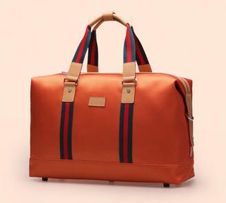 【FREE SHIPPING】LIAMS Good quality leather travel bag for men