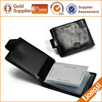 【FREE SHIPPING】LIAMS Luxury genuine leather card holder for men