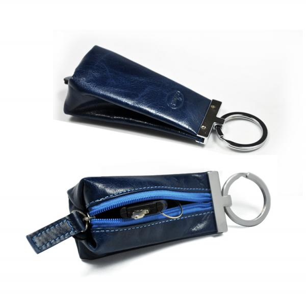 【FREE SHIPPING】LIAMS Fashion genuine leather key holder
