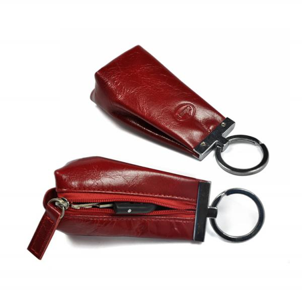 【FREE SHIPPING】LIAMS  Hot selling real leather key holder small coin purse