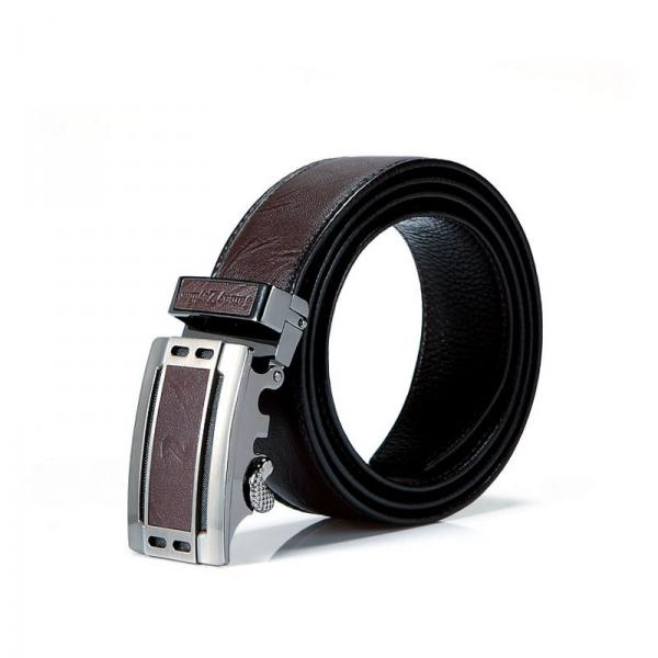 【FREE SHIPPING】JAMAY ZEYLINER Good qulity brown leather belt for men