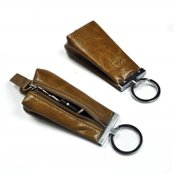 【FREE SHIPPING】LIAMS Hot selling cheap leather key holder