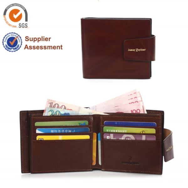 【FREE SHIPPING】JAMAY ZEYLINER Classic new man brand wallet for wholesale and retail