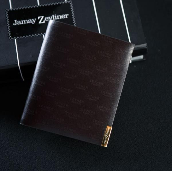 【FREE SHIPPING】JAMAY ZEYLINER Real leather Men's fashiong purse for retail and wholesale