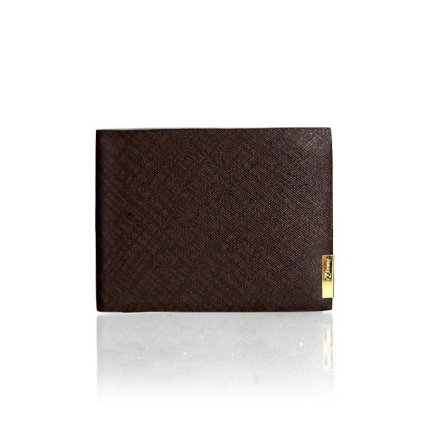 【FREE SHIPPING】JAMAY ZEYLINER Famous brand men's wallet leather with ID Window