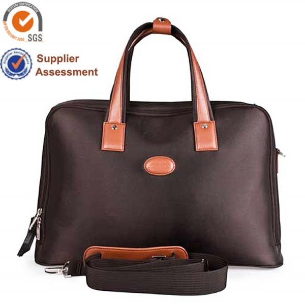 【FREE SHIPPING】Liams best quality nylon + PU leather travel bags