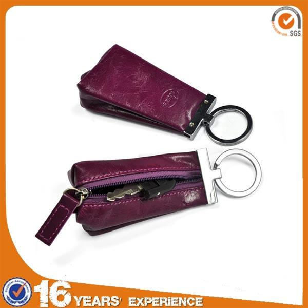 【Free shipping】 Liams 2013 hot sell real leather key chain wallet for promotion
