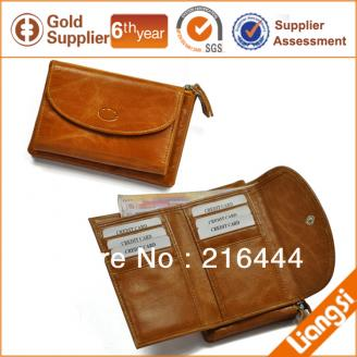 【Free shipping】Liams New Design Genuine Leather Womens Wallet For Promotion{