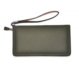 【Free shipping】 Liams 100% cow leather new design clutch purse